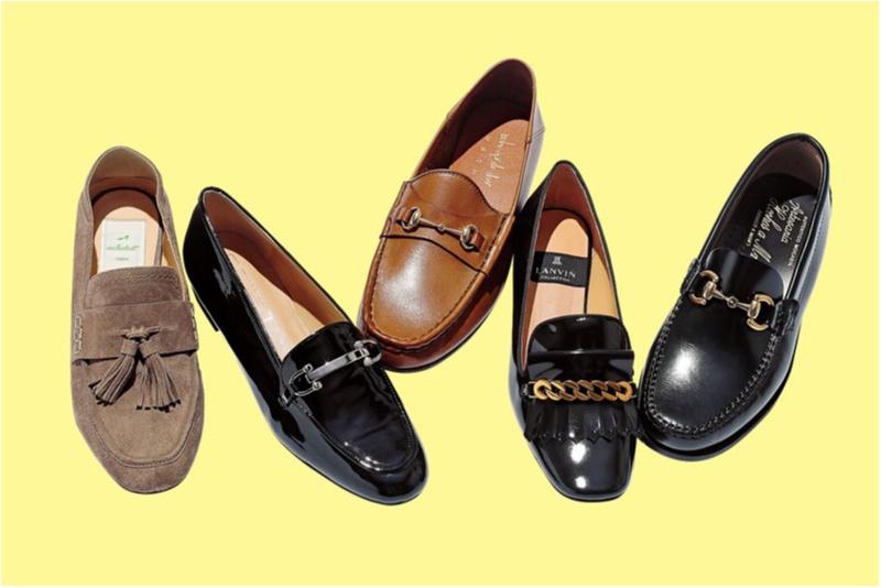 おじ靴派もバレエシューズ派も。秋冬フラット靴の注目株「モチーフつきローファー」をチェックすべし!_1_1