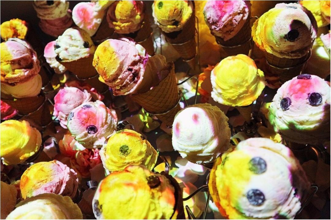 『お菓子の街』が表参道に現れた!キャンディのネオン看板❤︎ハチミツの街灯❤︎ブラウニーの石畳❤︎チョコレートの惑星❤︎カップケーキの火山…お菓子の魔法にかけられて✨≪samenyan≫_23