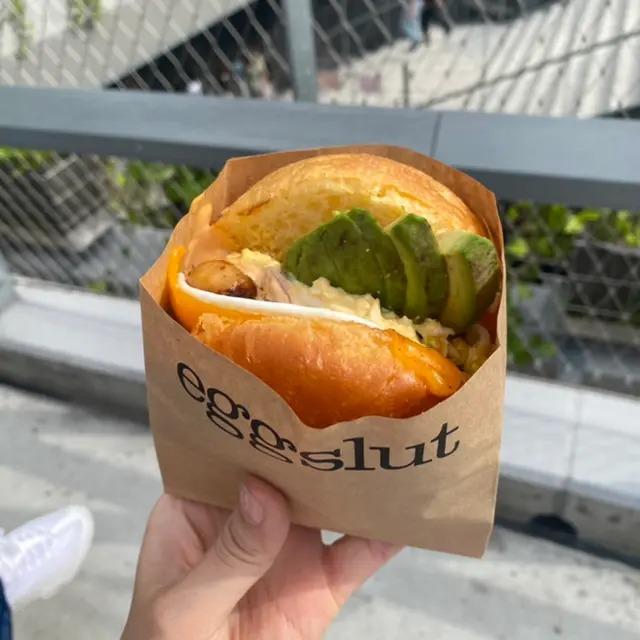 『Eggslut(エッグスラット)』で渋谷限定 PARKSIDE SANDWICH