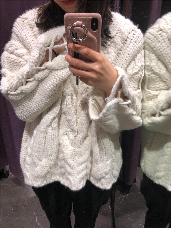《ZARA》買ってよかった!着回し抜群☆編み込み&ケーブルニットセーター!_2