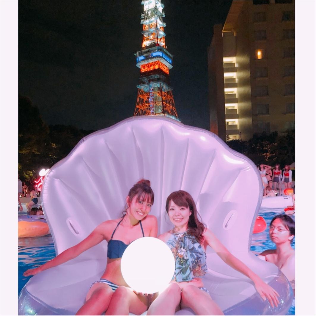 インスタ映え間違いなし‼︎【ナイトプール】in東京プリンス 〜映える写真の撮り方教えます♪〜_1