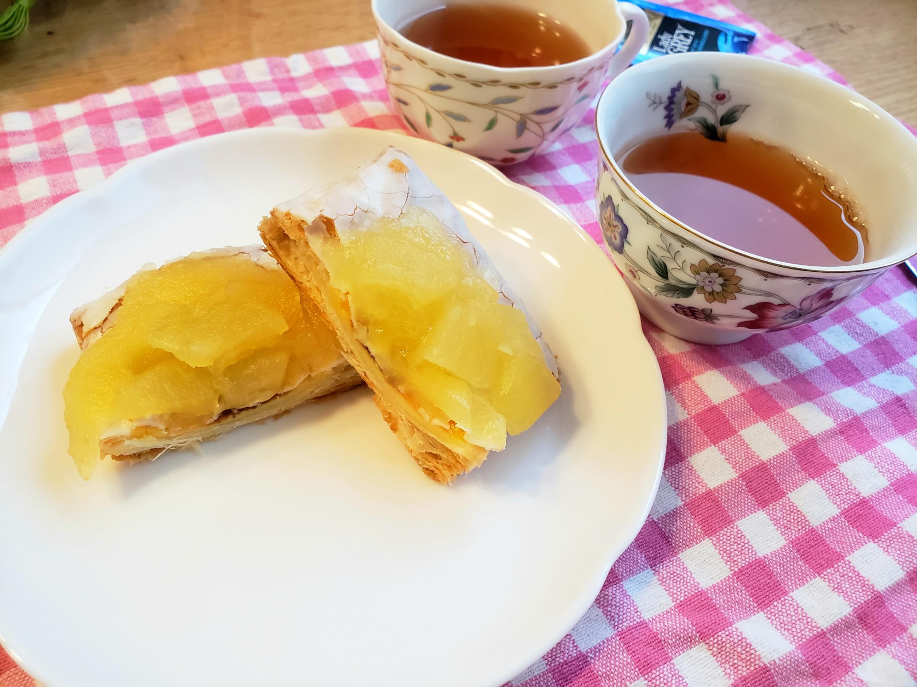 【ファミマ】の新作デザートとTWININGS紅茶2種で《フードペアリングvol.2》☆_3