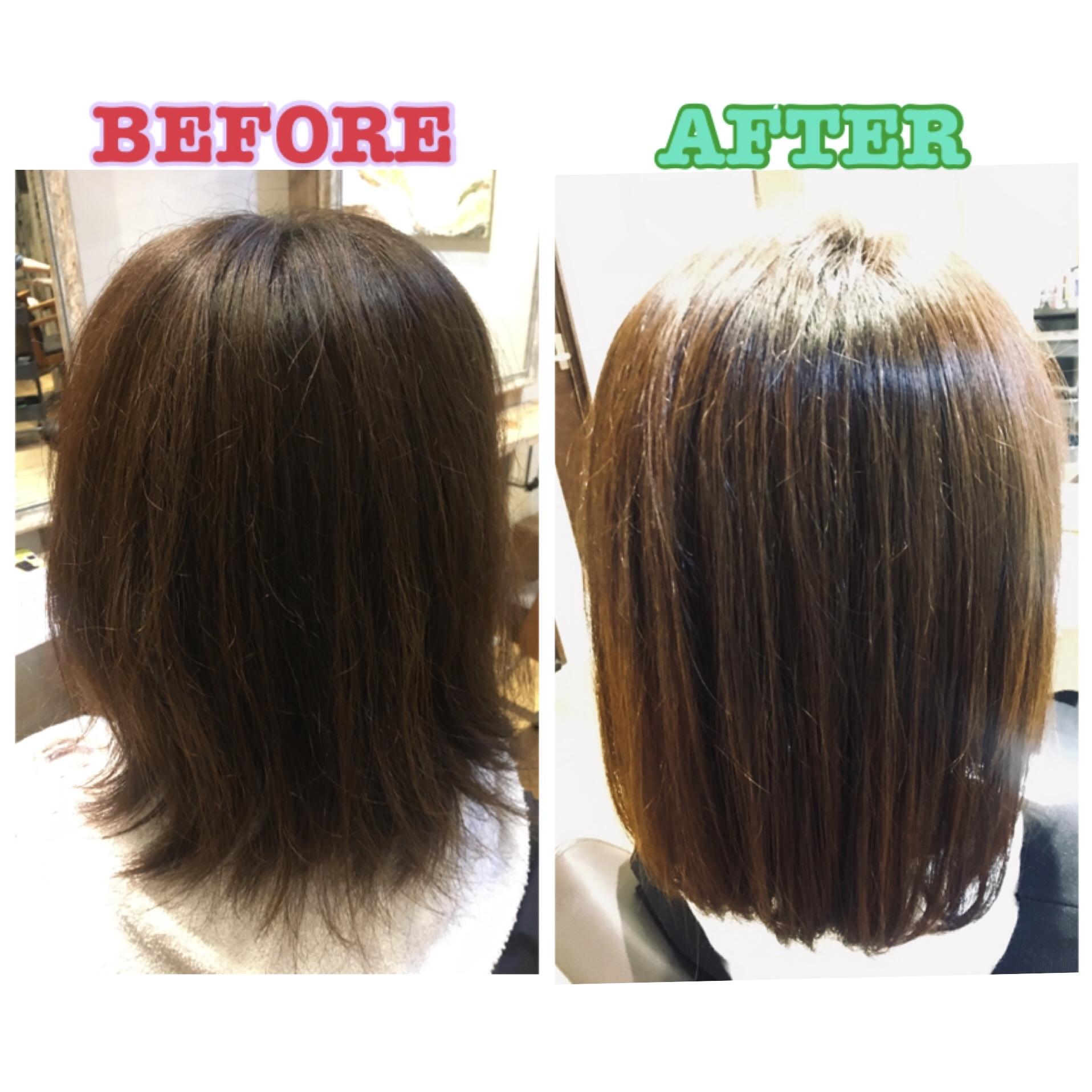 毎日触りたくなる髪へ。髪質改善トリートメント、施術1週間後の効果は…!?_4