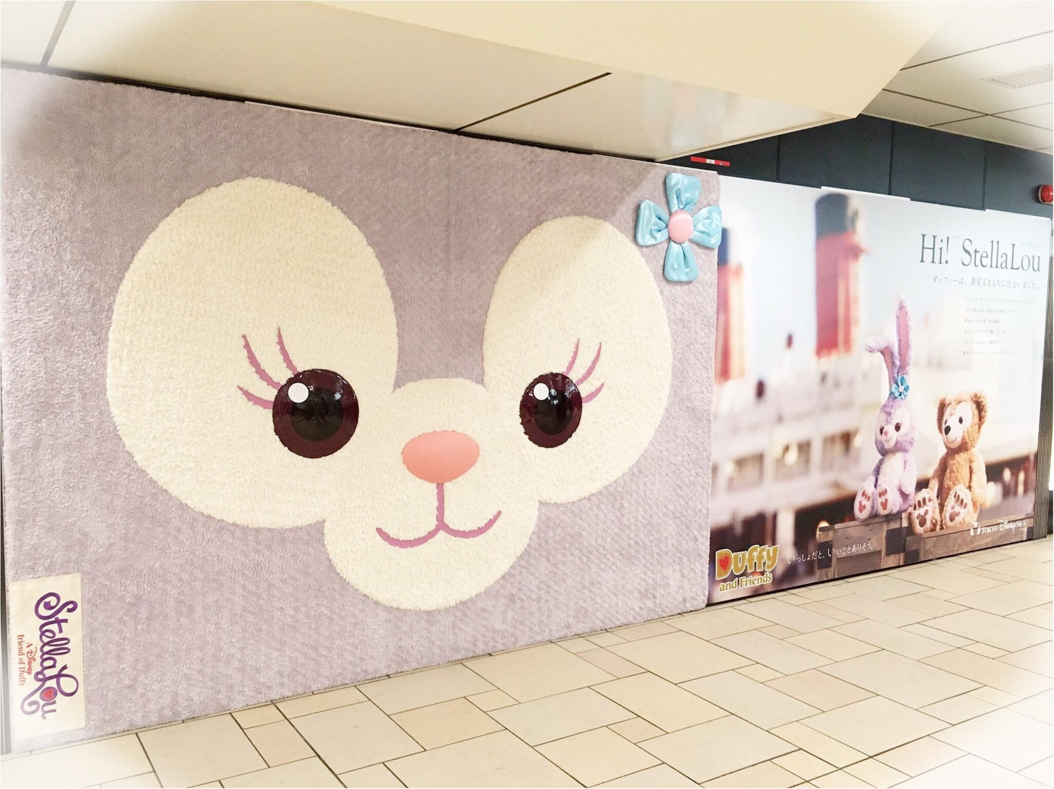 『ステラ・ルー』のふわふわ♡ポスターが表参道駅をジャック!_4