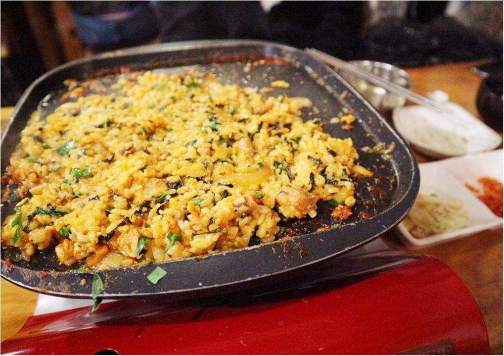 いまキテるあったかグルメはコレ!一度食べたらやみつき♡とろ〜りチーズを絡めて食べる「チーズタッカルビ」☻_4