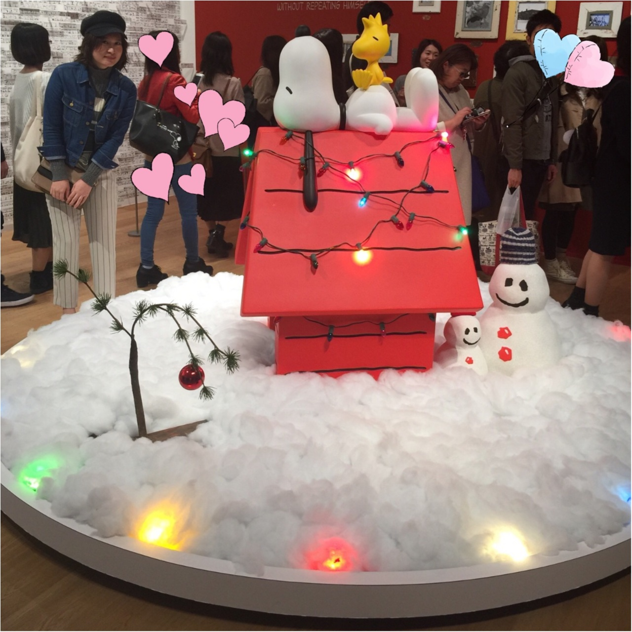 SNOOPY MUSEUM TOKYO で一足早いクリスマス気分♩_5
