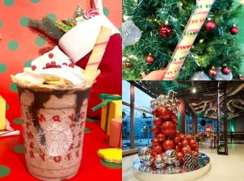 【スタバ 新作レポ】クリスマス第3弾「サンタブーツ チョコレート フラペチーノ」がすごい! 店舗限定スペシャルフォトスポットも登場♡