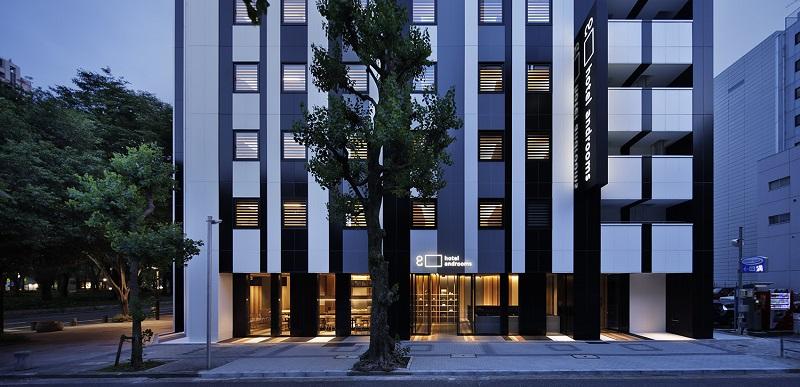 【名古屋のおしゃれホテル】『ホテル・アンドルームス名古屋栄』外観