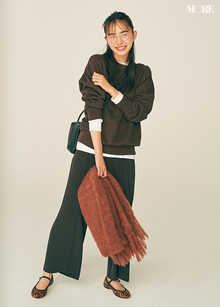 【2020年版】冬ファッションのトレンド特集 - 20代女性の冬コーデにおすすめのニットベストなど最旬アイテム・カラー・柄まとめ_44