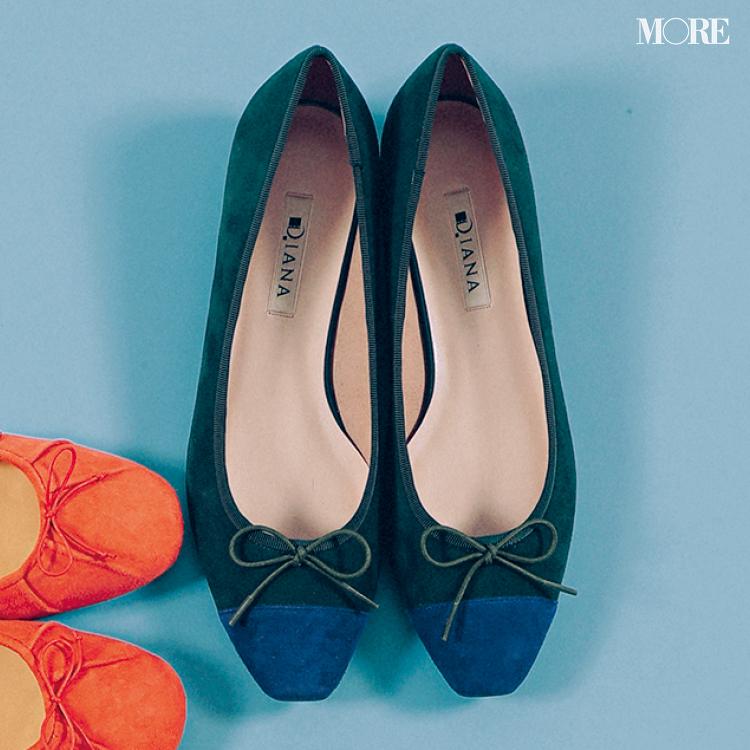秋のぺたんこ靴なら【きれい色スエードバレエ靴】が断然可愛い♡ おすすめはこっくりカラー!_3