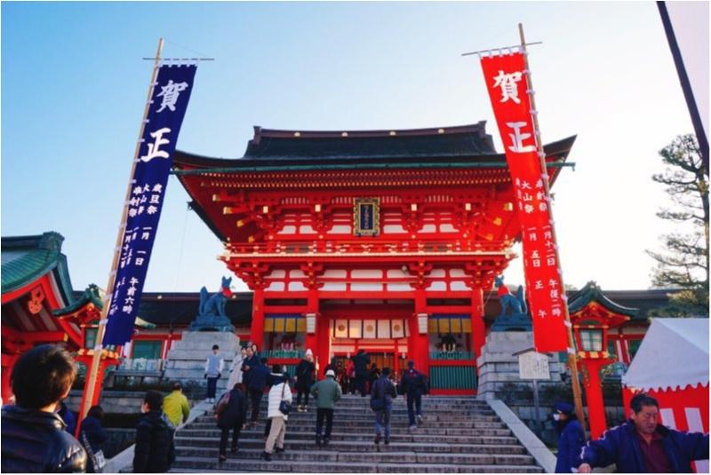 初詣人気ランキングでNO.1‼︎全国で3万社を超える稲荷神社の総本宮で今年の初詣♪_1