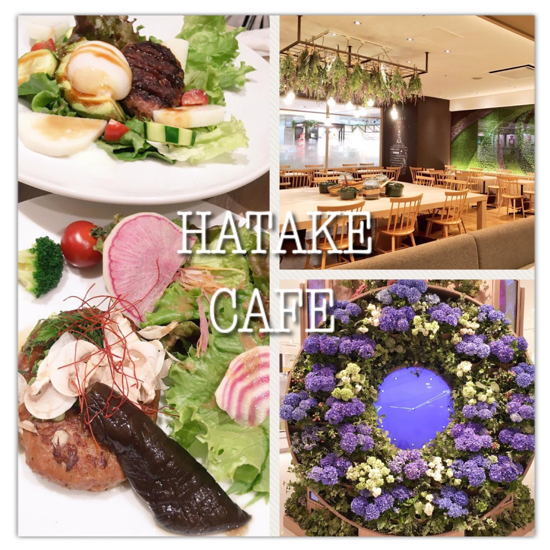 銀座マロニエゲート『HATAKE CAFE』のメニューが体に優しい&おいしすぎる〜(﹡´◡`﹡ )♡_1