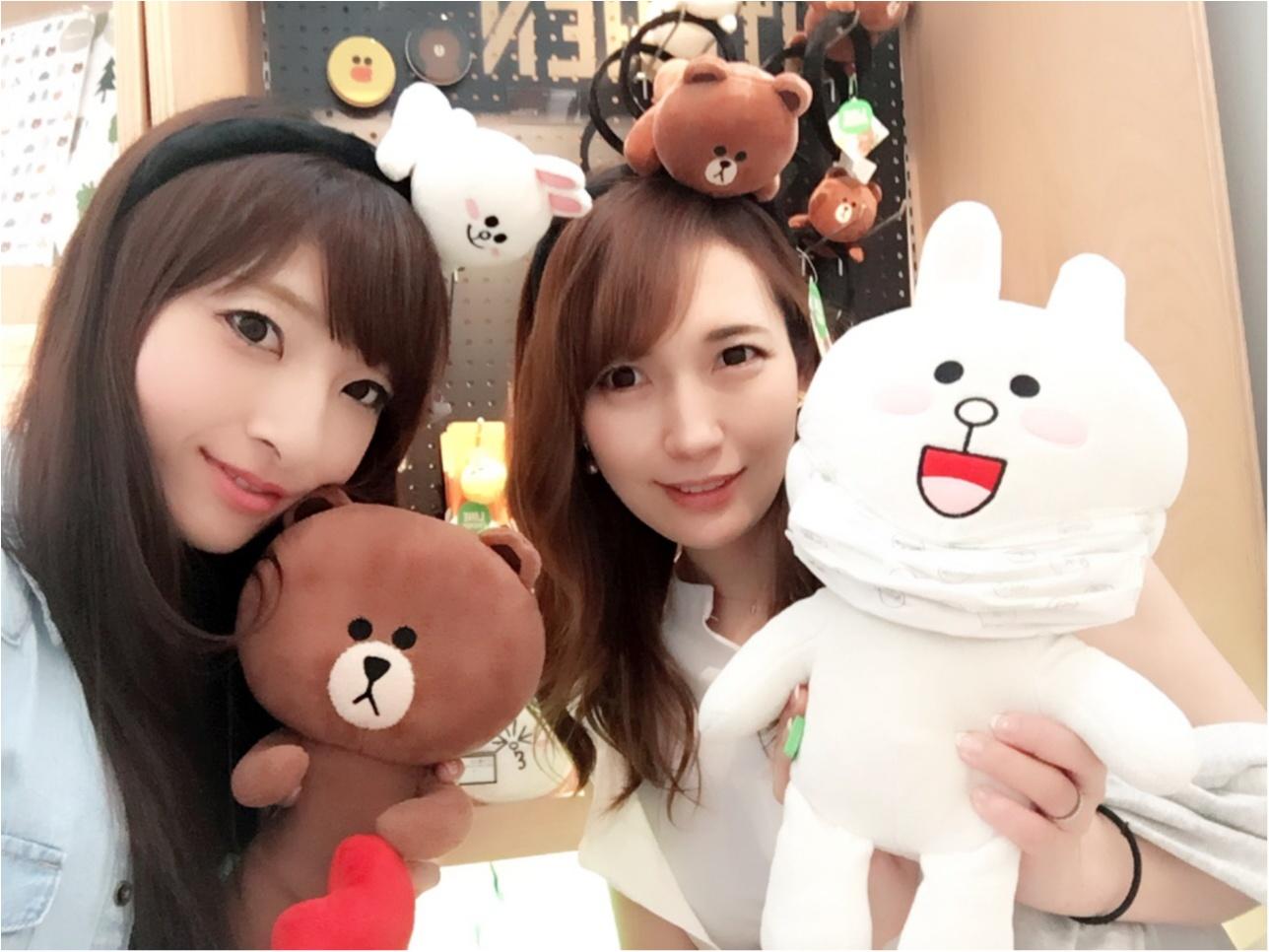 ♡大人気キャラクターショップ【LINE FRIENDS】行ってきたよ‼︎♡モアハピ◡̈のぞみ♡_7