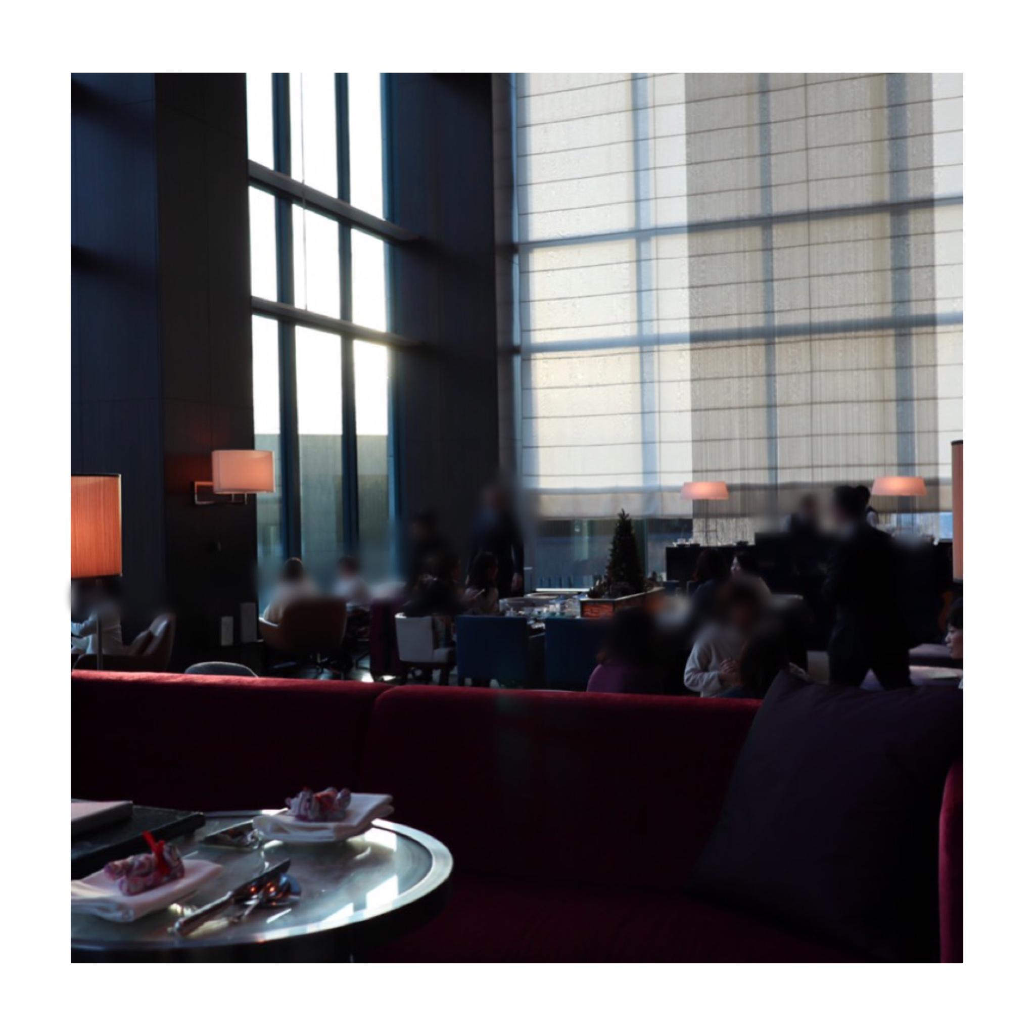 《パールをイメージした真っ白なアフタヌーンティー❤️》写真映え◎【コンラッド東京】のアフタヌーンティーに行ってきました☻_1