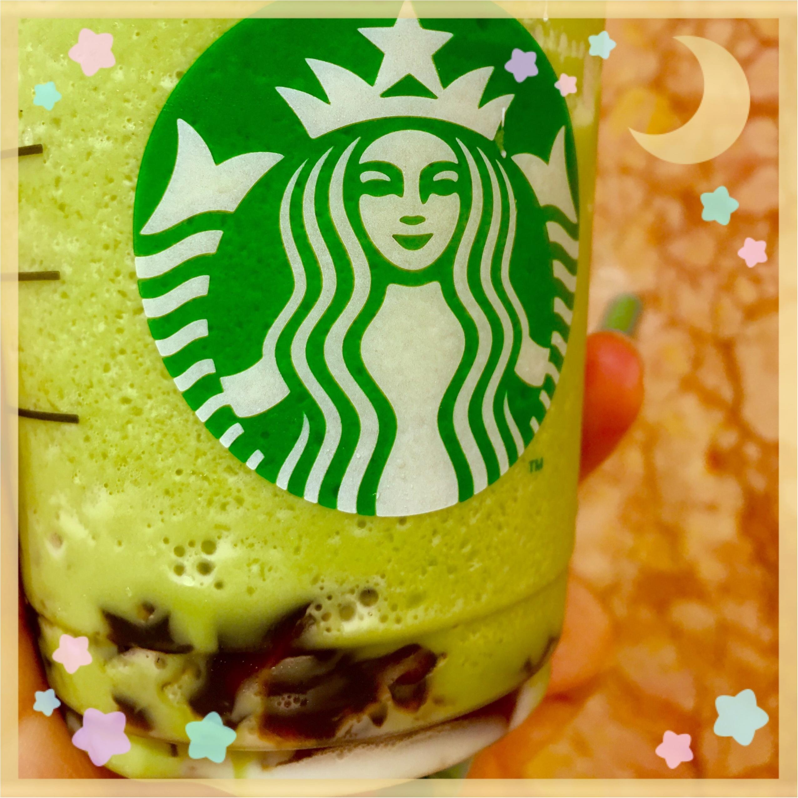 """☺︎♡激ウマ!今しか飲めない✨ """"わらび餅抹茶フラペチーノ"""" ♡カスタムオーダーの仕方♡_1"""