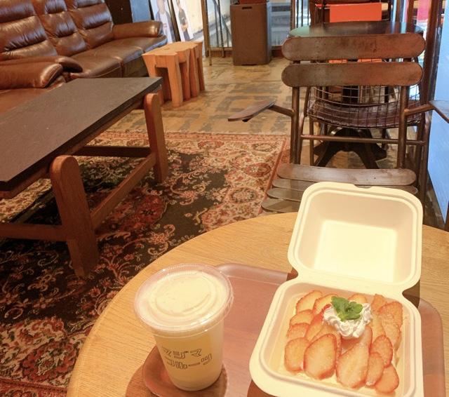 【みおしー遠征ログ❤︎大阪】イチゴを贅沢に!「マジマフルーツ」のオープンサンドが映えすぎ♡_5