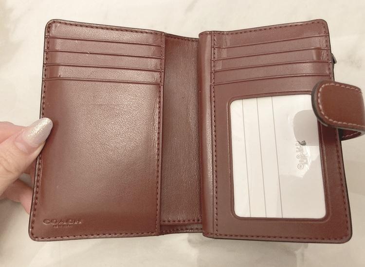 【20代女子の愛用財布】LOUIS  VUITTONの長財布×COACHのミニ財布を使い分け♡_5
